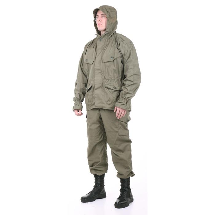 Костюм Снайпер-2 рип-стоп с налокотниками и наколенниками олива, Тактические костюмы - арт. 983160259