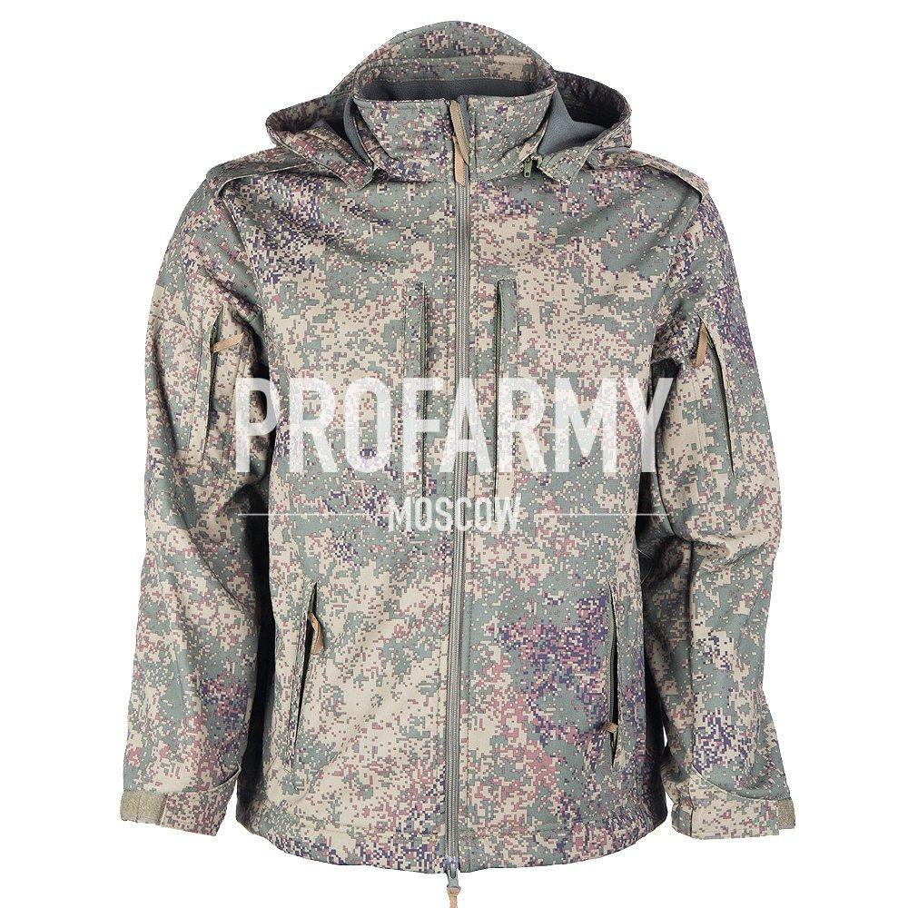 Куртка Mistral XPS18-4 пиксель, Куртки из Softshell и Windbloc - арт. 865140329