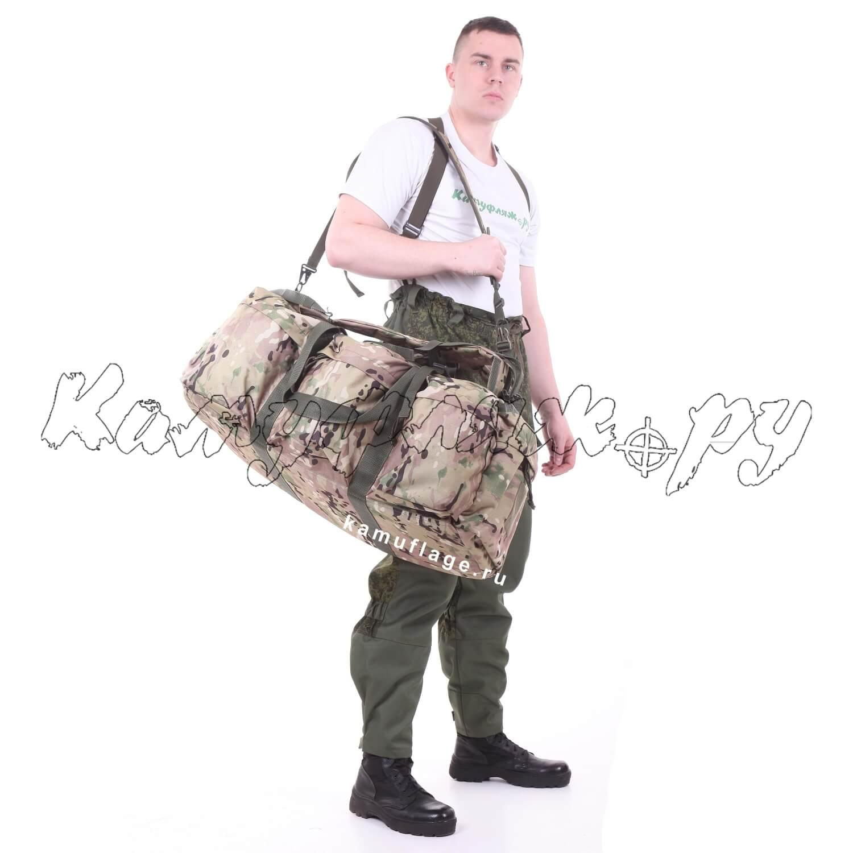Баул-рюкзак KE Tactical Grand Tour 100л Nylon 900 Den multicam, Тактические рюкзаки - арт. 1011510264