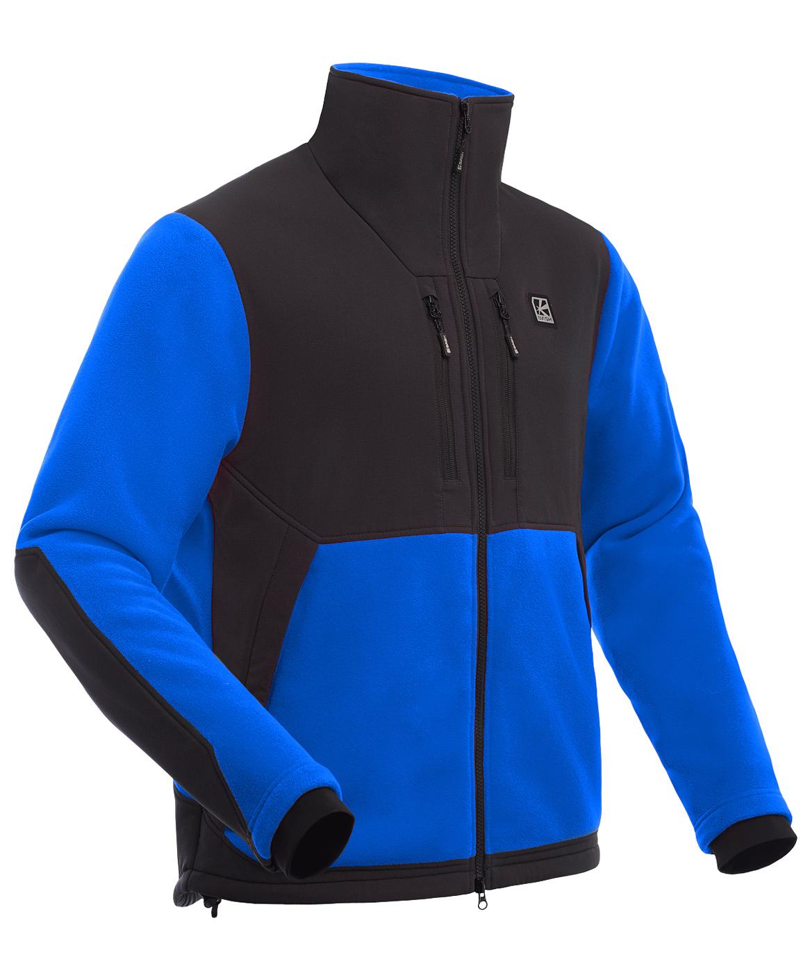 Куртка мужская Polartec BASK GUIDE синяя, Куртки из Polartec и флиса - арт. 1066490330