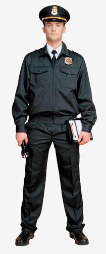Костюм для охраны мужской матовая смесовая 1208 - артикул: 667190248