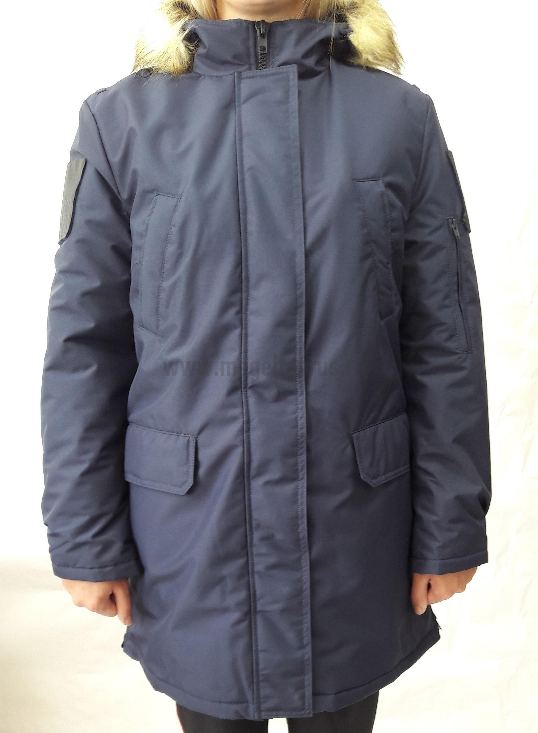 Куртка женская всесезонная МПА-82 (ткань рип-стоп мембрана) синяя - артикул: 520060331
