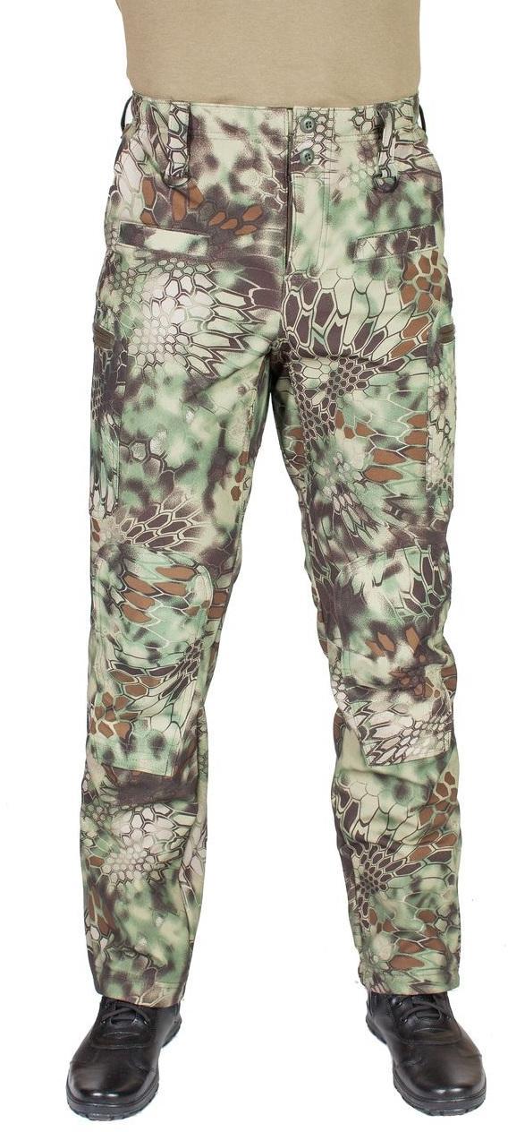 Брюки МПА-41 (ткань Софтшелл), камуфляж питон лес - артикул: 493220346