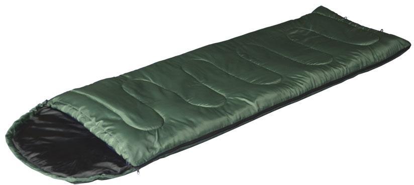 Camp bag спальный мешок цвет зеленый