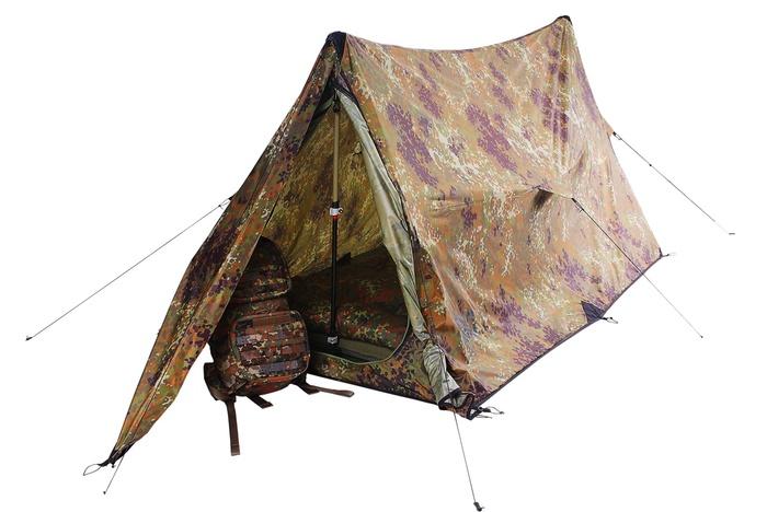 Палатка Mark 1.03B, flecktarn, 7103.2921, Палатки двухместные - арт. 565220320