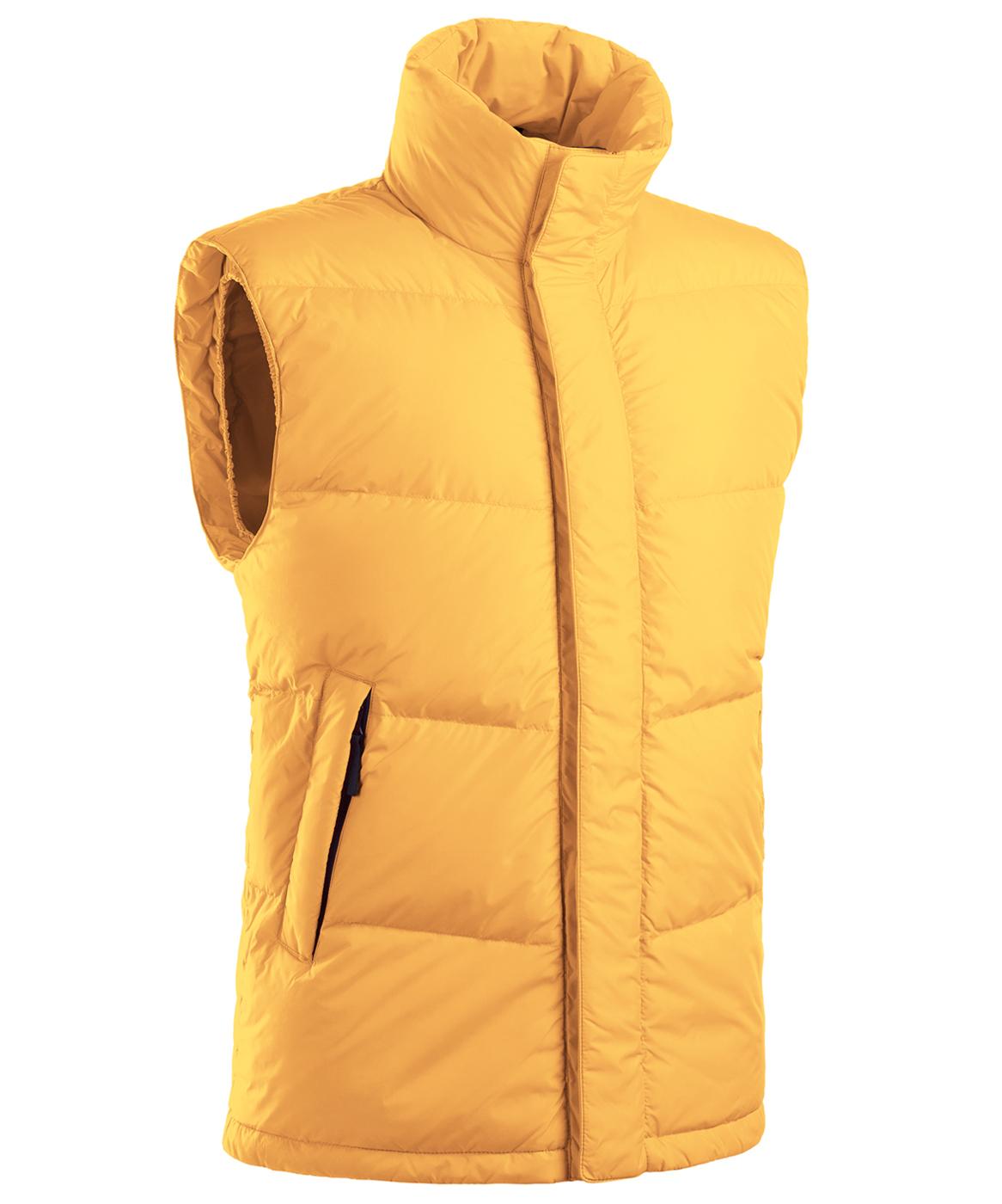 Купить Пуховый жилет BASK TRAVERSE MV желтый, Компания БАСК