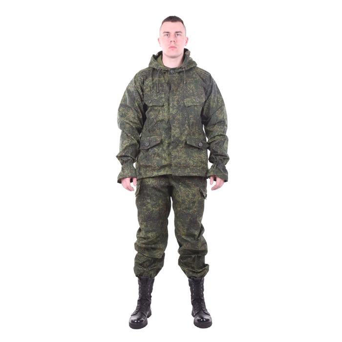 Костюм Снайпер-2 рип-стоп с налокотниками и наколенниками цифра, Тактические костюмы - арт. 983130259