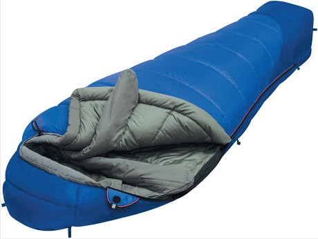 Мешок спальный MOUNTAIN Compact синий, правый