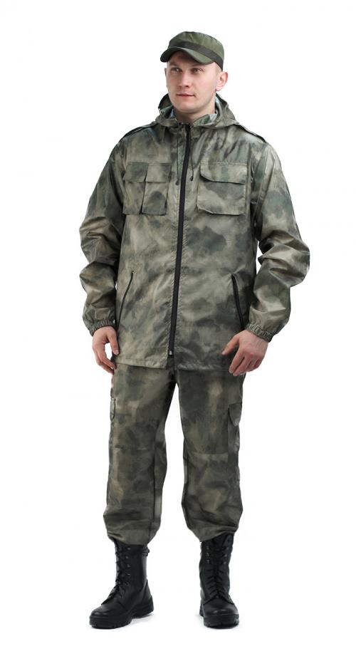 Костюм мужской ВВЗ «Турист-2», ткань Таффета Рип-стоп Атака мох