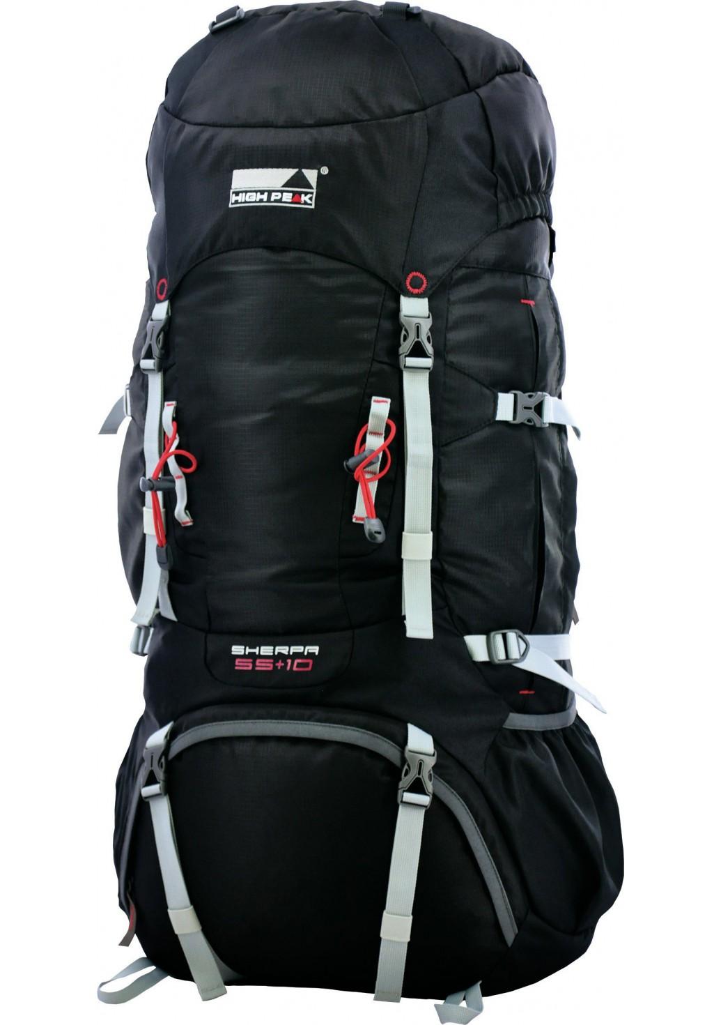 Рюкзак Sherpa 65+10 черный, 65+10л, 2040 гр, 31106, Трекинговые рюкзаки - арт. 824870269