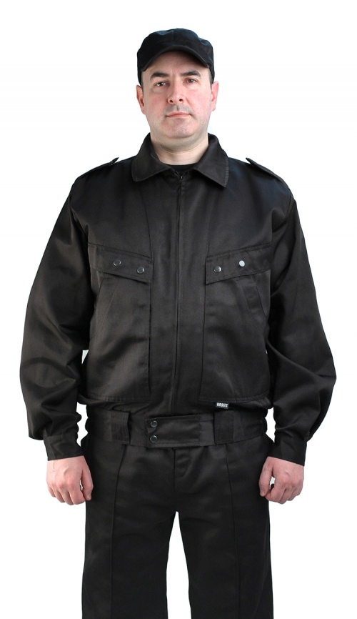 Костюм мужской  Охрана  черный - артикул: 524760248