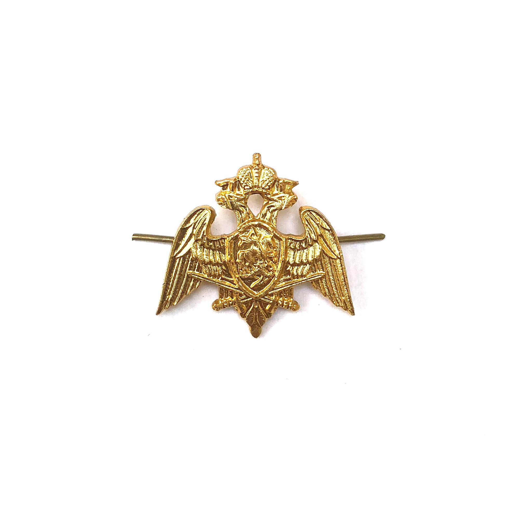 Эмблема петличная Росгвардия металл Форма одежды