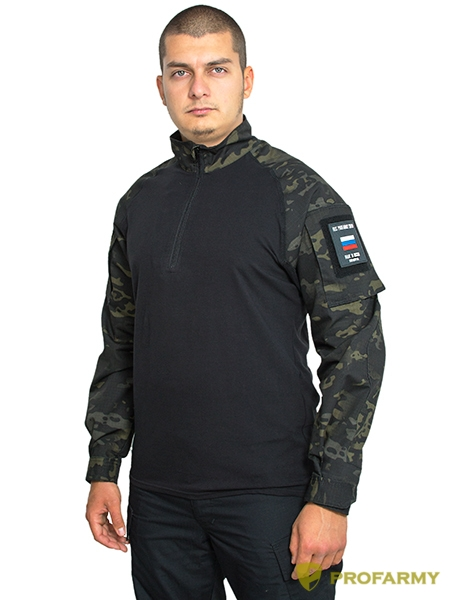 Рубашка тактическая Condor 210 TPR-69 multicam black
