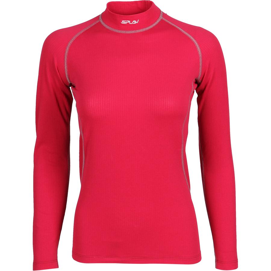 Термобелье женское Energy футболка L/S Thermal Grid light брусничная, Футболки - арт. 1028550179