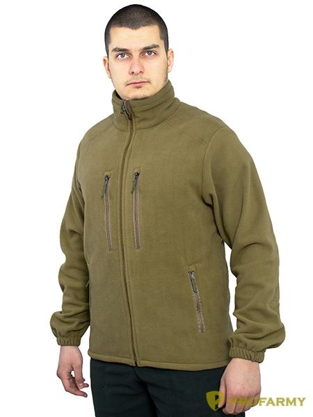 Куртка HUSKY-2 PF флисовая coyote, Куртки из Polartec и флиса - арт. 1052240330