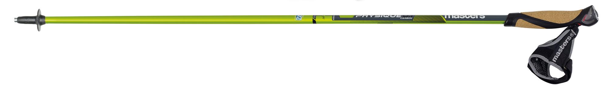 Монолитные палки для скандинавской ходьбы PHYSIQUE 0.1 100-135см, 01N0316, Треккинговые палки - арт. 780880287