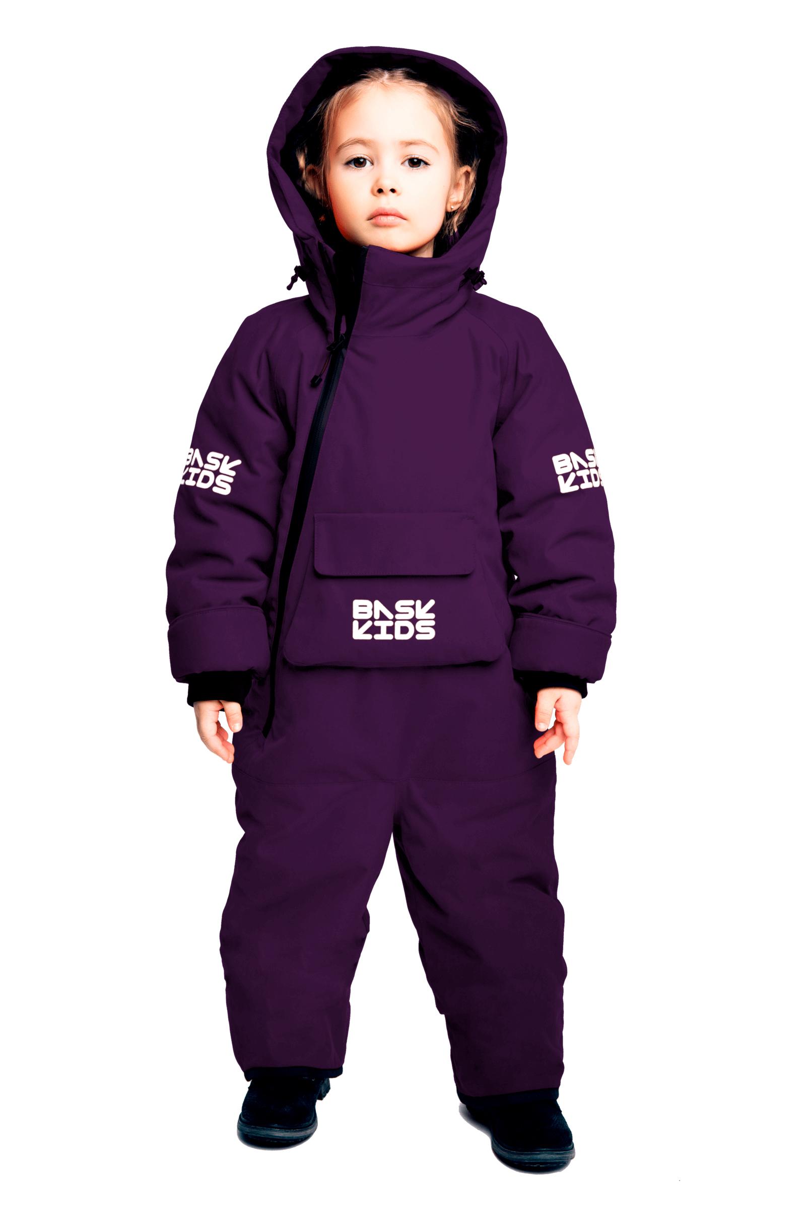 Купить Комбинезон утепленный BASK kids SPACE фиолетовый, Компания БАСК