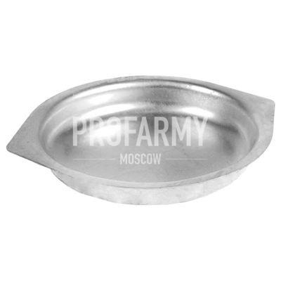 Матовая тарелка для вторых блюд 130 мм(0,5л)