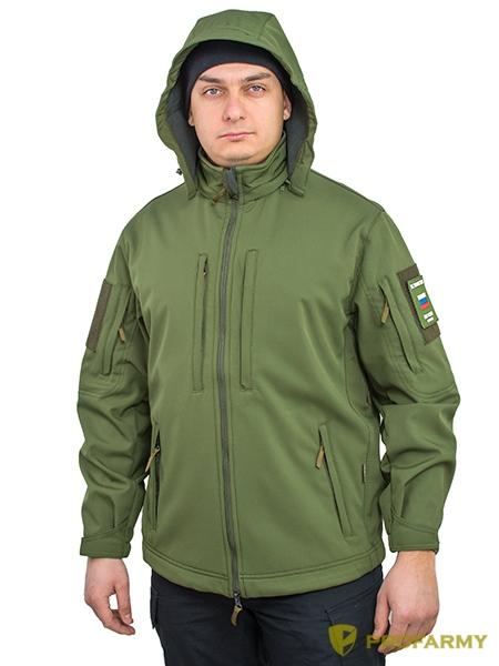 Куртка Mistral XPS74-4 Softshell Olive Green, Куртки - арт. 1150290156