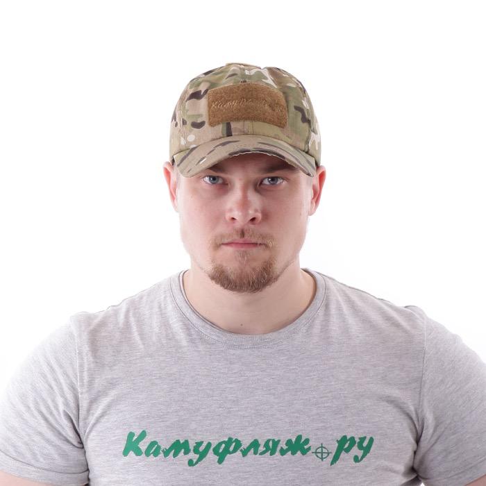 Бейсболка KE рип-стоп multicam