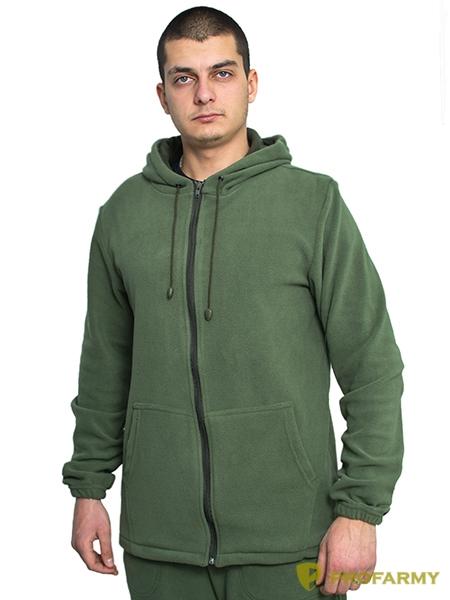 Куртка флисовая TERRA олива, Толстовки - арт. 1065070187