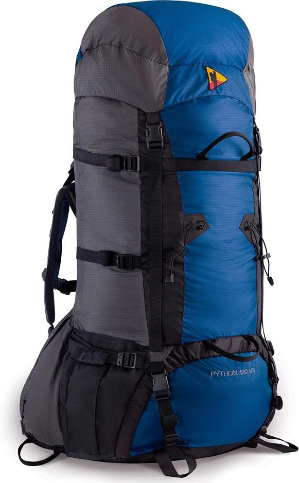 Рюкзак BASK PYTHON 120 V3 черный/серый тмн/синий, Рюкзаки для горных лыж и сноуборда - арт. 303430286