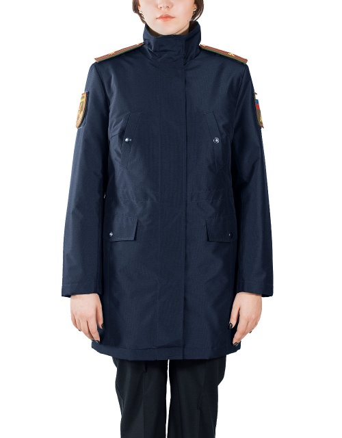 Куртка женская демисезонная МПА-59 (синий/рип-стоп) - артикул: 511740331