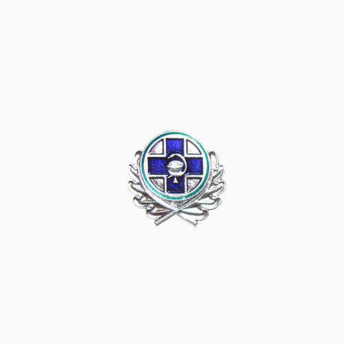 Эмблема петличная Государственная ветеринарная служба