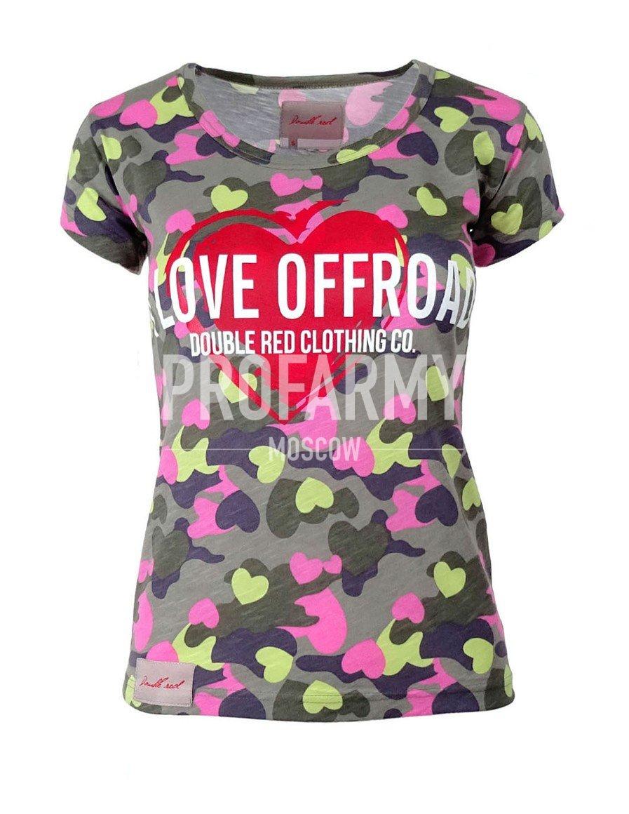 Футболка женская I love offroad DR2510 - артикул: 912330179