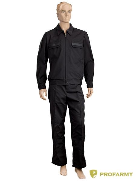 Костюм МПА-35 штабной RipStop черный, Форменные костюмы - арт. 902190247