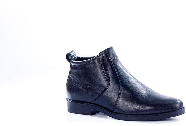 Зимние ботинки старшего офицерского состава ОФИЦЕР кожа-шерсть 6020
