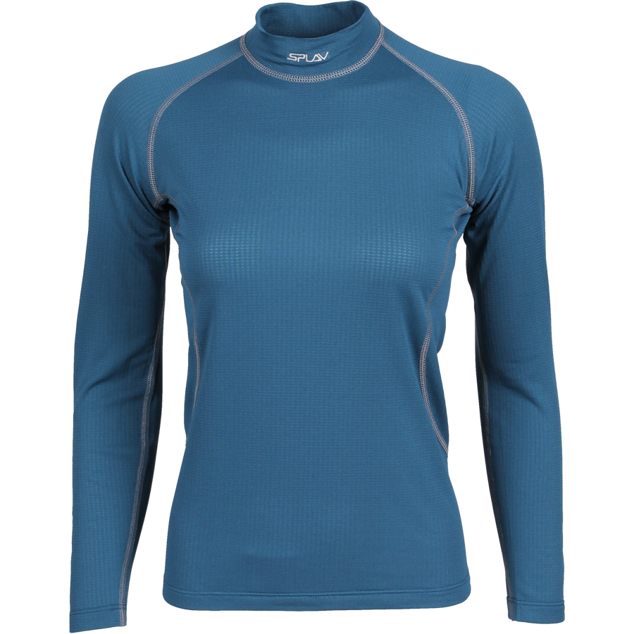 Термобелье женское Energy футболка L/S Thermal Grid light морская волна, Футболки - арт. 1026970179