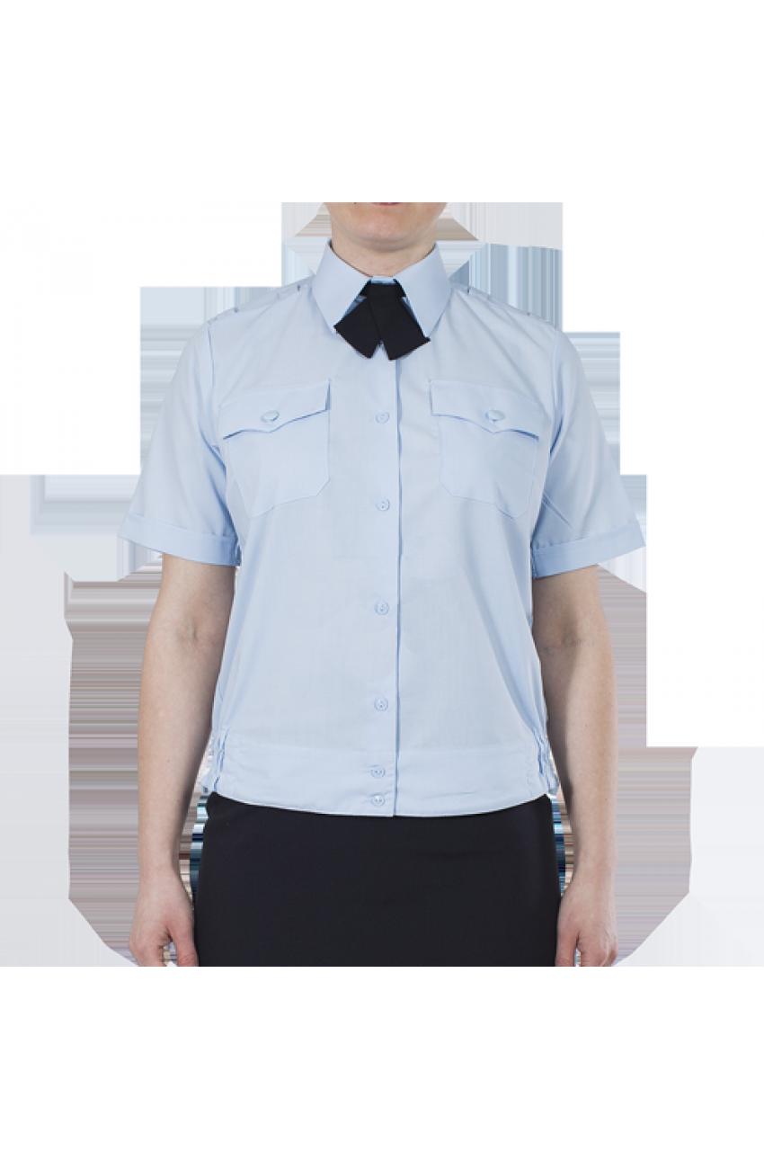 Блуза Полиция св.гол, короткий рукав, на резинке