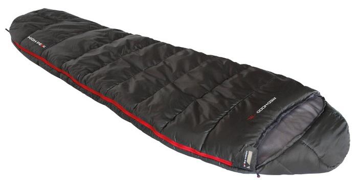 Мешок спальный Redwood -3 темно-серый, кокон, левая молния, 80х220см, 23086, Спальники - арт. 1039650165