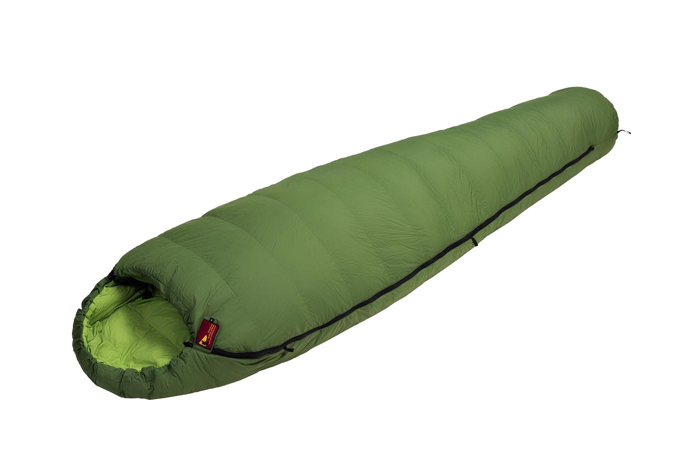 Купить Спальный мешок BASK TREKKING V2 XL -18 зеленый тмн/зеленый, Компания БАСК