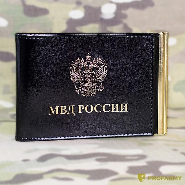 Обложка КУ-4 шик черная МВД, Обложки - арт. 905760135