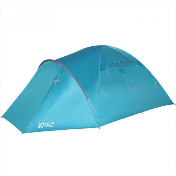 Палатка Nova Tour Терра 4 V3, Палатки четырехместные - арт. 891070322