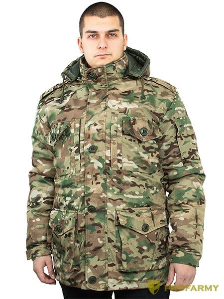 Куртка Смок-3 конвас мультикам, Демисезонные куртки - арт. 1053080334