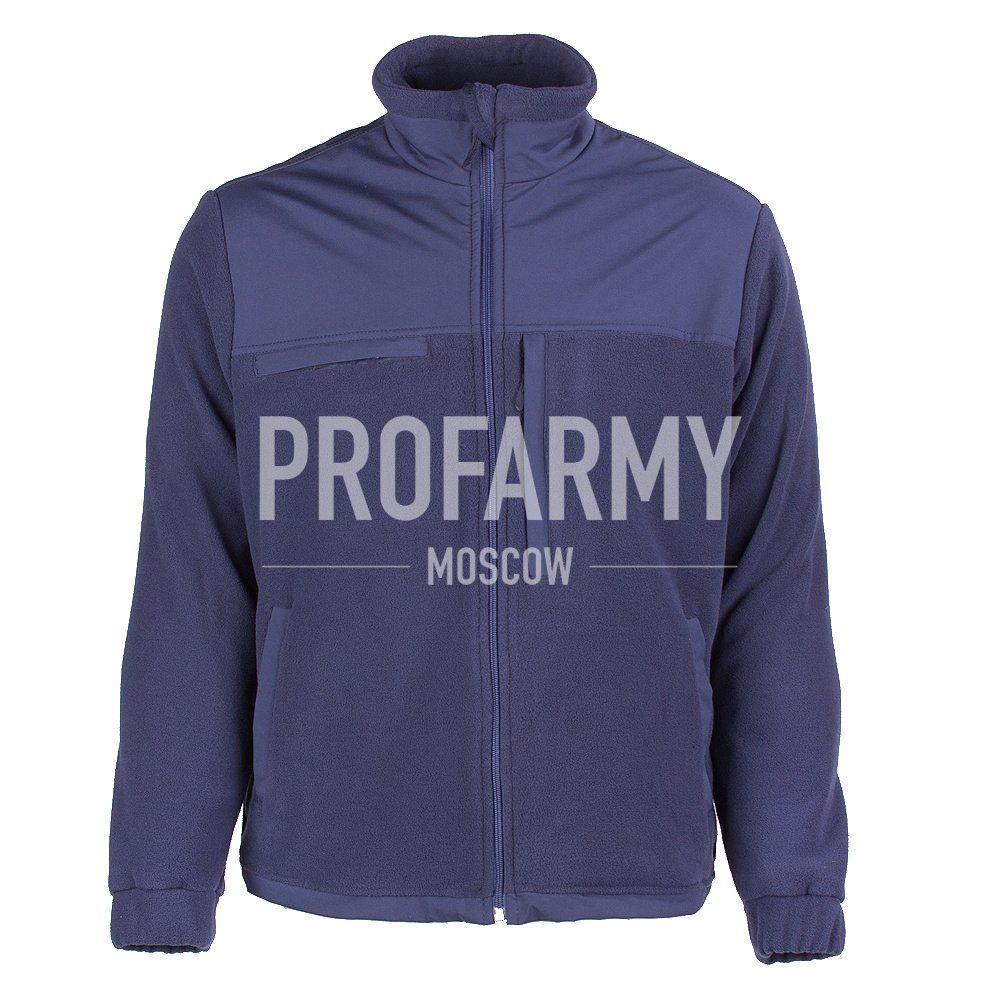 Куртка HUSKY-3 2LPF260 (синий), Куртки из Polartec и флиса - арт. 1049580330