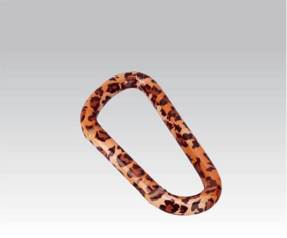 Карабин Леопард диам. 6*60мм (упак=10 шт), 3317