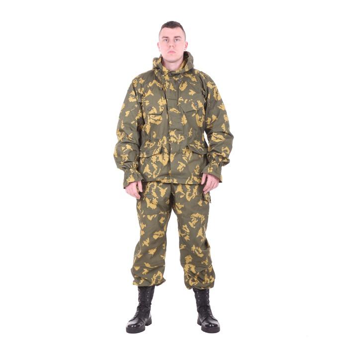 Костюм Снайпер-2 рип-стоп с налокотниками и наколенниками березка желтая, Тактические костюмы - арт. 983070259