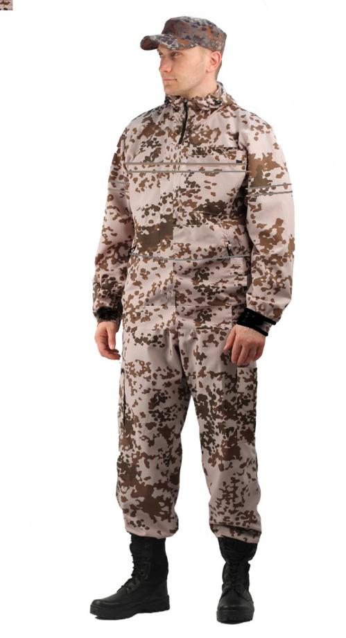 Костюм противоэнцефалитный летний, ткань тиси сорочечная-облегченная, камуфляж Тропик