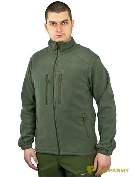 Куртка HUSKY-2 2LPF флисовая олива, Куртки из Polartec и флиса - арт. 1052230330