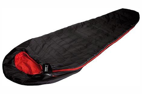 Мешок спальный Pak 600 черный/красный, 23303, Кемпинговые (Лето) спальники - арт. 617610372