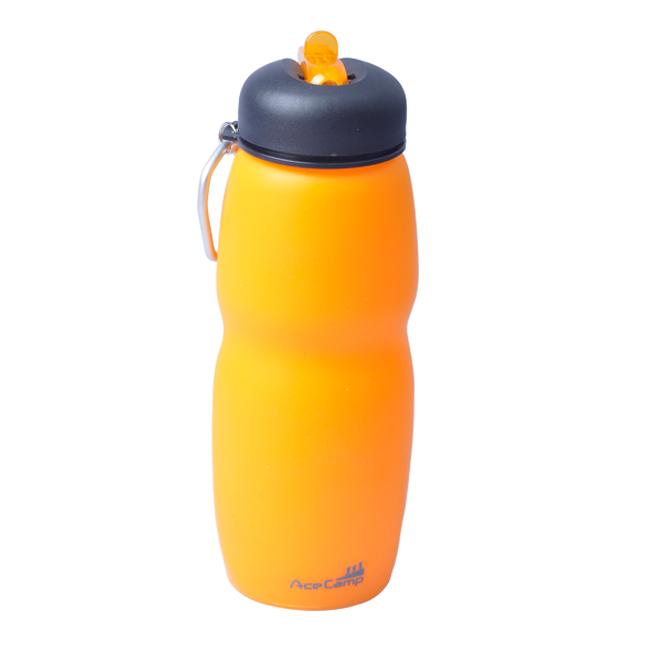 Складная силиконовая бутылка 700 мл. Оранжевый, 700ml, 1544 - артикул: 816370196