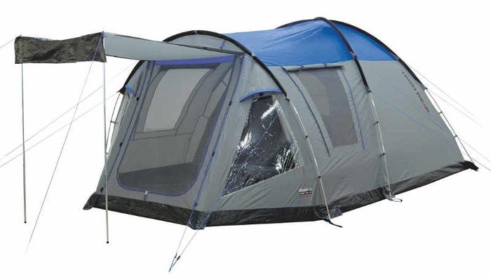 Палатка Santiago 5 серый/голубой, 430х280х190/175 см, 11801, Палатки 5+местные - арт. 1039450323