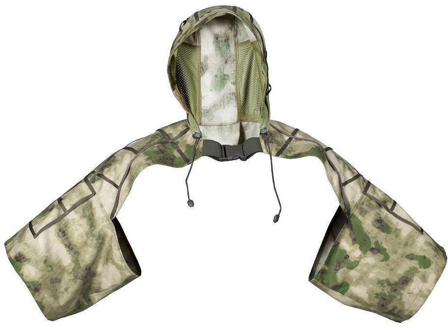 Накидка для снайпера МПА-45 мох, ткань Мираж-210