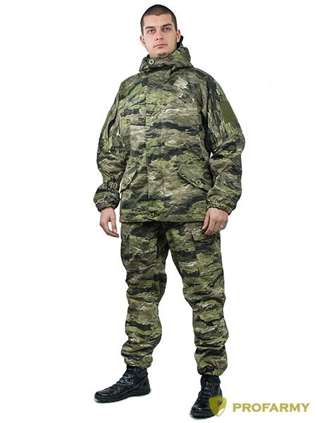 Костюм Горка-3 (флис) на молнии Tiger 3D, Костюмы для охоты - арт. 864160399