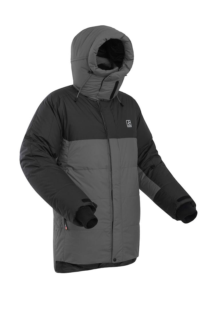 Купить Пуховая куртка BASK KHAN TENGRI V7 темно-серый/черный, Компания БАСК