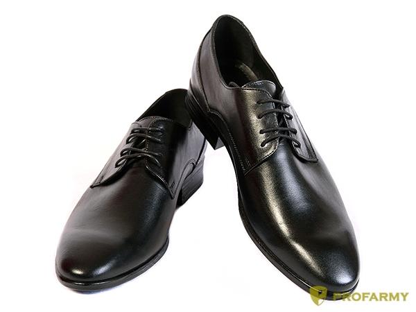 Туфли офицерские 0007 шнурки, Туфли - арт. 1058630263